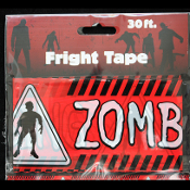 Walking Dead Gothic Prop-CAUTION ZOMBIE CROSSING-Fright Tape-Halloween Decoration