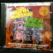 A NIGHT IN A HAUNTED HOUSE - A NIGHT IN A GRAVEYARD -Narrated Special Sound Effects CD-Spine tingling ghostly tales. Halloween scene setter creepy audio guided tour, gothic-style storytelling narration, with high quality spooky sound effects. BEST!!!