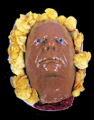 Life Size Zombie Food Realistic Severed Human HEAD GELATIN DESSERT ICE CREAM MOLD Halloween Party Decoration Jello Mould Crafts Horror Prop Building Supply Creepy Walking Dead Body Part. Ghoulish freak dares to scare! Addams Family FESTER inspired.