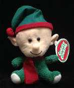 Santa Helper Scout Pixie ELF SHELF SITTER DOLL Christmas Stuffed Toy. How does Santa know who is naughty and who is nice? Have fun creating a new family holiday game tradition, with our cute, cuddly, soft plush version of the Shelf Elf toy doll!