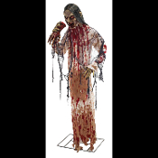 LIFE SIZE ZOMBIES, GHOULS, MONSTERS, MUTANTS, FREAKS, CORPSES, TORSOS, DEAD BODIES, DUMMIES, SEVERED HEADS - Standing, Hanging, Indoor, Outdoor Decor. Battery-Op, Electronic, Static. Cheap Discount Wholesale HAUNTED HOUSE PROPS HALLOWEEN DECORATIONS.