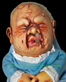 Gross Mutant Baby Stinky Doll Puppet Ugly Costume Prop