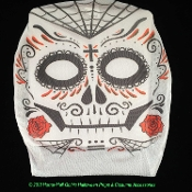 Cheap SUGAR SKULLS, Dia de Muertos, DAY of the DEAD Theme - All Hallow's Eve, Halloween, All Saint's Day, All Souls Day, Mexico Holiday Celebration of Life, Mexican Traditional Decorations, Fiesta Party Props, Death Character Masquerade Masks