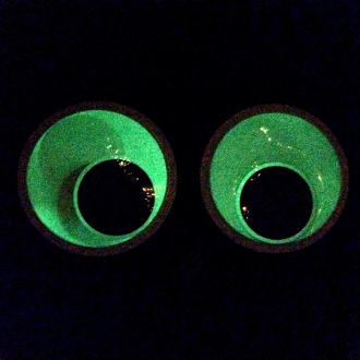 Funny jumbo glow googly wiggle eyes giant crafts prop for Large googly eyes crafts