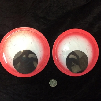 Funny jumbo googly wiggle eyes giant crafts decoration for Large googly eyes crafts