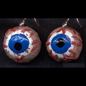 Cheap Wholesale Discount Realistic and Googly Wiggle Fake Human EYEBALLS, Eyes, Eye, Morgue Autopsy Body Parts, Bloody Halloween Horror Butcher Chop Shop Meat Market Props Creepy Haunted House Decorations