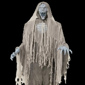 cheap wholesale discount halloween haunted house animated props lighting gothic style decor animatronics