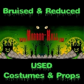 SCRATCH & DENT Halloween Props & Costume Accessories, Bruised & Reduced, Damaged & Open Box, USED Home Haunt Decorations, USED Halloween Props, USED Halloween Cosplay Costumes, USED Costume Accessories ***NO RETURNS ACCEPTED ITEMS IN THIS CATEGORY***