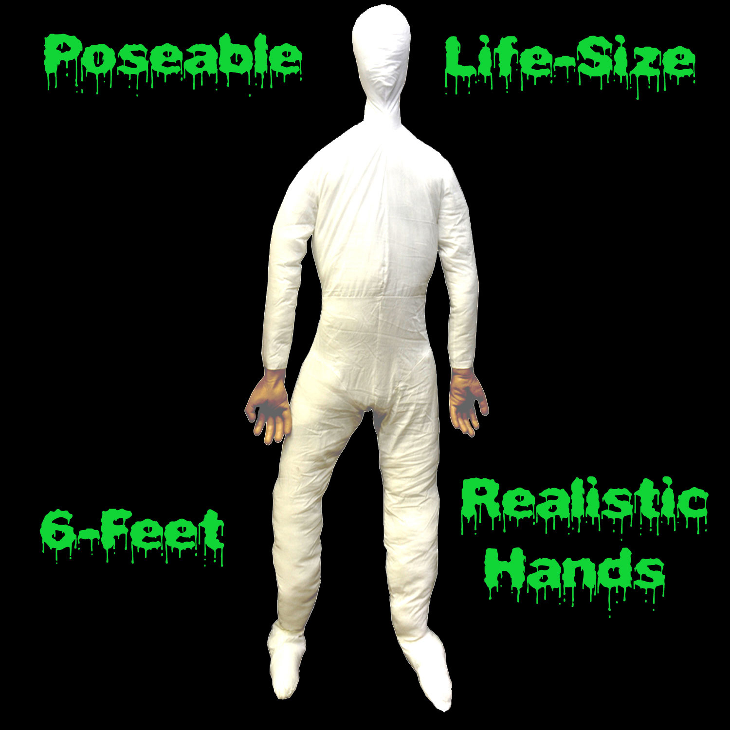 life size poseable mannequin display dummy doll male body with lifelike hands cheap halloween prop - Cheap Halloween Props