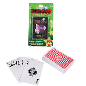 Poker Blackjack Cheat MARKED DECK PLAYING CARDS Novelty Beginner Secret Magic Trick Magician Gag Gift Joke Prank Party Favor Casino Gambling Theme Economy Toy Play Game. Standard Coated Playing Card Size. Over 20 Easy-to-do Professional Magic Tricks!