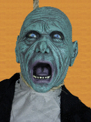 54-inch Gothic-ZOMBIE GHOUL CORPSE-Realistic Dead Body Halloween Prop - 4-feet-6-inches (135cm) Tall Smaller than Adult *Life-Size (*Child-Size) SHRUNKEN HEAD FESTER Gruesome Hanging Halloween Haunt Prop Decoration Detailed Hangman Un-Dead Decor