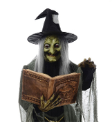 LIFE SIZE WITCHES, GHOSTS, PHANTOMS, SPIRITS, VAMPIRES, ALIENS, GARGOYLES, CLOWNS, PINHEAD TORTURER- Standing, Hanging, Indoor, Outdoor Decor. Battery-Op, Electronic, Static Props. Cheap Discount Wholesale Halloween Haunted House Props Decorations.