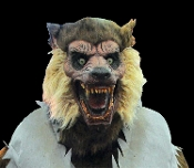 Cheap Wholesale Discount ANIMATED Animatronics Werewolf, Werewolves, Lycans, Monster Wolf Wolves, Halloween Horror Props Haunted House Decorations