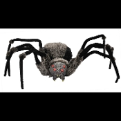 Cheap Wholesale Discount Realistic Fake Creepy Black Widow SPIDERS, Scary Life Size Tarantulas, Arachnids Spider Webs, Arachnophobia Webbing Haunted House Props Cobwebs Critters Halloween Decorations