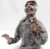 Cheap Wholesale Discount ANIMATED Animatronics - Zombies, Ghouls, Corpses, Heads, Prop, Zombie, Ghoul, Corpse, Head, Walking Dead Halloween Props Haunted House Decorations