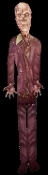 Life Size 5-Ft Jointed Cutout ZOMBIE Gothic Halloween Decoration. Colorful Cardboard Hinged Sectioned Fold-out. Graveyard, Cemetery, Dungeon, Torture Chamber, Horror Movie Theme, Walking Dead Scenery, Haunted House Decor Door Wall Window Mural Prop.