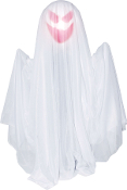 2Ft Animated WHITE RISING GHOST Light Sound Halloween Prop Decor
