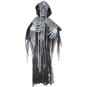 6Ft Creepy HANGING GHOUL Color Change Light Halloween Decoration