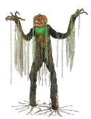 7Ft ANIMATED ROOT OF EVIL Scarecrow Haunted House Halloween Prop