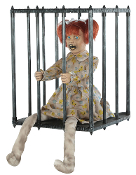 ANIMATED CAGED KID WALK AROUND Adult Mens Costume Prop Accessory