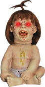 Animated PRIZED POSSESSION Creepy Baby Doll Halloween Prop Decor