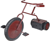 Creepy ANIMATED GHOSTLY TRICYCLE Child Sounds Haunted House Prop