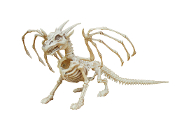 SMALL DRAGON SKELETON Medieval Theme Party Halloween Decoration