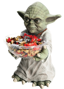 Licensed Star Wars Figurine YODA CANDY BOWL HOLDER Halloween Party Prop Decoration