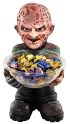 Licensed Figurine FREDDY KRUEGER CANDY BOWL HOLDER Halloween Party Horror Movie Character Prop Decoration
