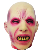 Life Size Realistic Decapitated Bloody SEVERED ZOMBIE HEAD Guillotine Horror Movie Dexter Walking Dead Party Halloween Haunted House Prop Building Decoration. Unfortunate victim shows a grimaced expression preparing for the executioner's death blade!