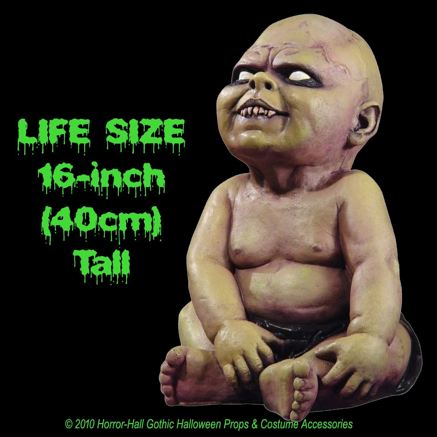Halloween Zombie Baby Prop.Life Size Creepy Zombie Baby Halloween Decorations Horror Props